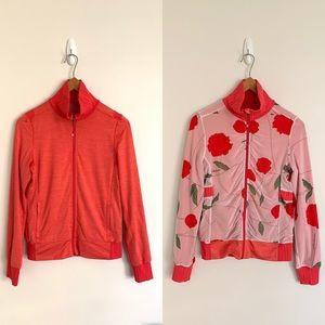 lululemon Raja Reversible Zip-Up Floral Jacket Sz8